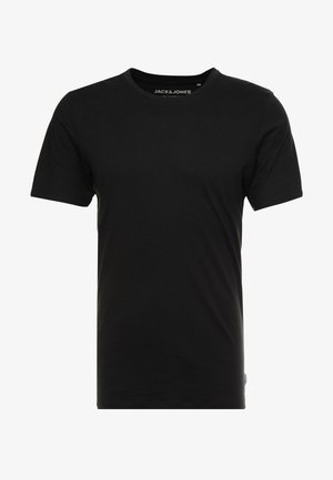 JJEORGANIC - T-shirt basic - black