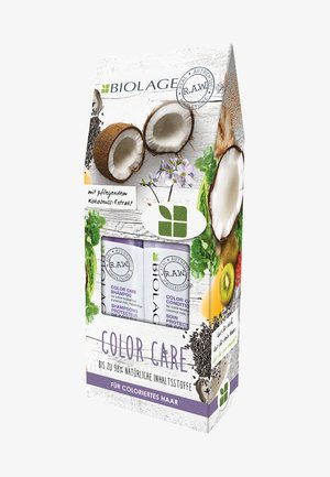 BIOLAGE R.A.W. COLORCARE COFFRET - Hair set - -