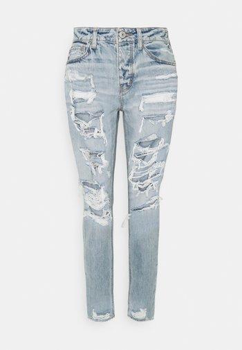 TOMGIRL - Jeans baggy - indigo skylight destroy