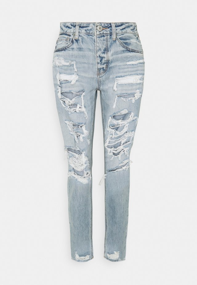 TOMGIRL - Jeans relaxed fit - indigo skylight destroy