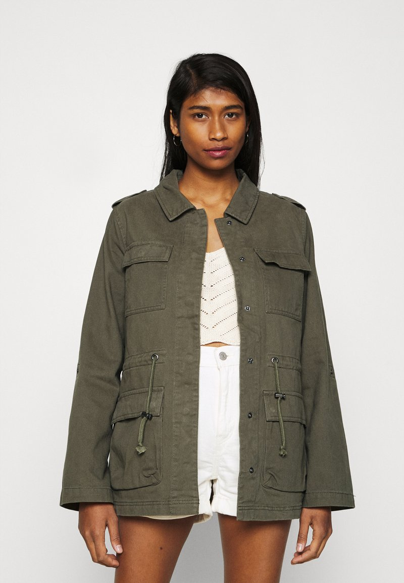 ONLY - ONLMAYA LIFE UTILITY JACKET  - Summer jacket - kalamata