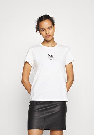BUSSOLOTTO  - T-shirt imprimé - ivory