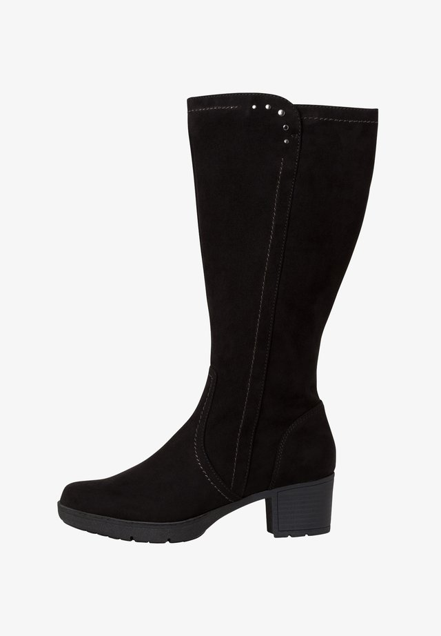 STIEFEL - Platform boots - black