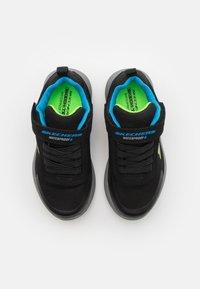 Skechers - DYNAMIC TREAD - Trainers - black/blue/lime - 3