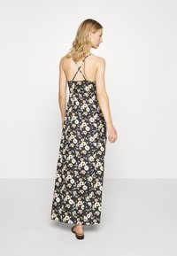 Even&Odd - Maxi-jurk - black/yellow - 2