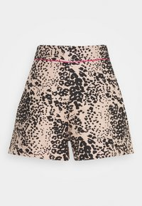 J.CREW - LEOPARD SAILCLOTH - Shorts - ashen black - 4
