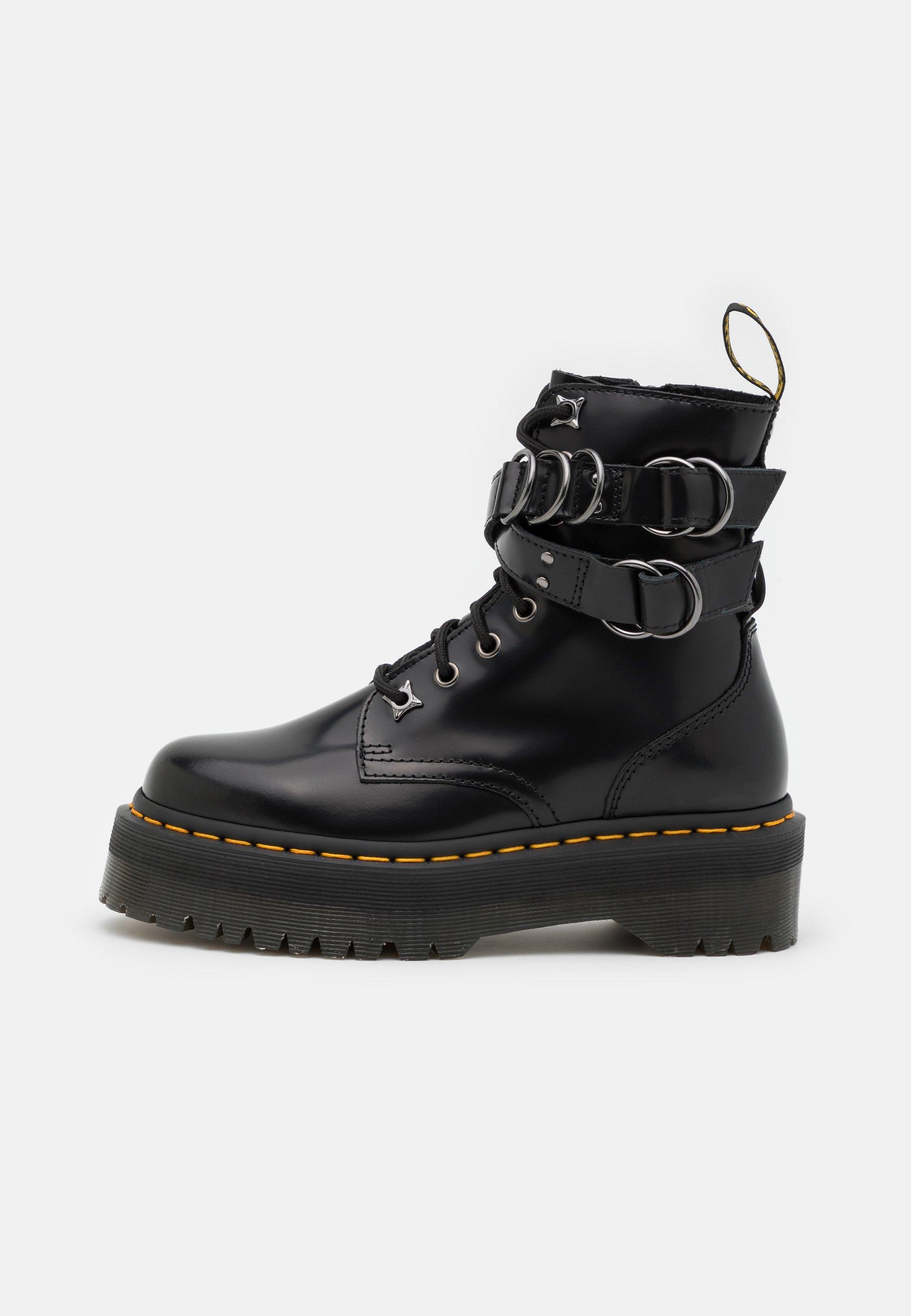 Women JADON HDW-8 EYE BOOT UNISEX - Lace-up ankle boots