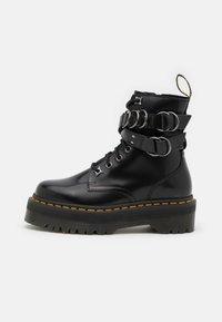 JADON HDW-8 EYE BOOT UNISEX - Lace-up ankle boots - black buttero