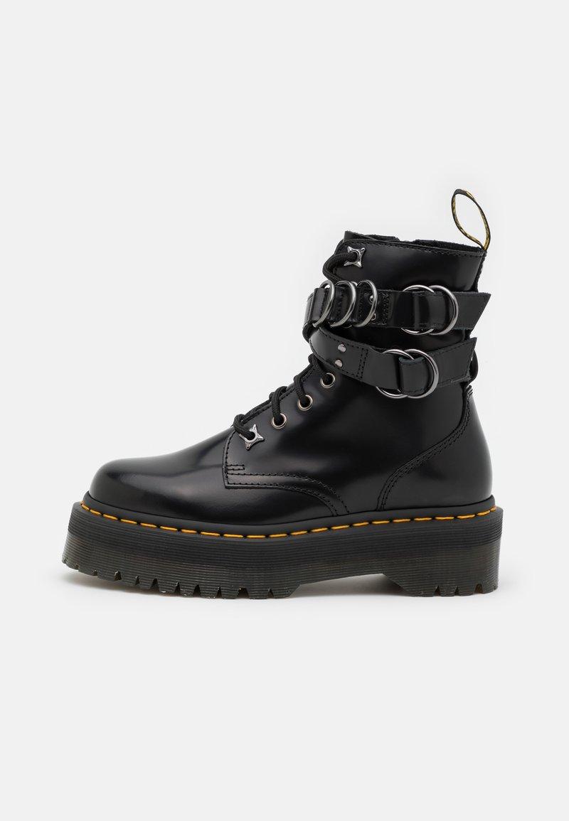 Dr. Martens - JADON HDW-8 EYE BOOT UNISEX - Lace-up ankle boots - black buttero