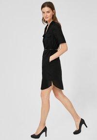 s.Oliver BLACK LABEL - Shirt dress - black - 1