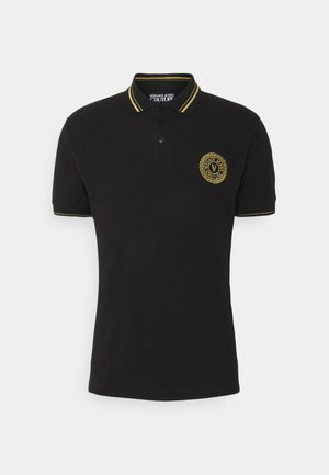 PLAIN  - Polo - black/gold