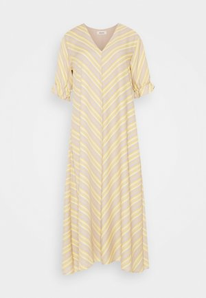 CLEMENTINE PRINT DRESS - Vestito estivo - yellow