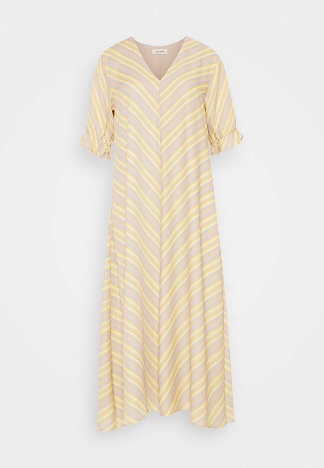CLEMENTINE PRINT DRESS - Hverdagskjoler - yellow