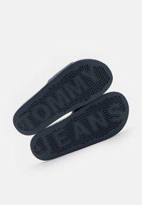 Tommy Jeans - HERITAGE POOL SLIDE - Pantofle - twilight navy - 2