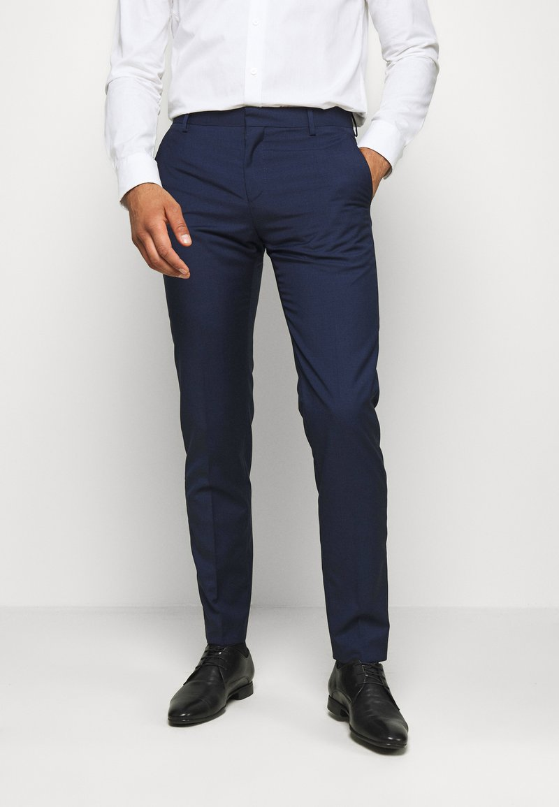 Tommy Hilfiger Tailored - SEPARATE PANT - Suit trousers - blue