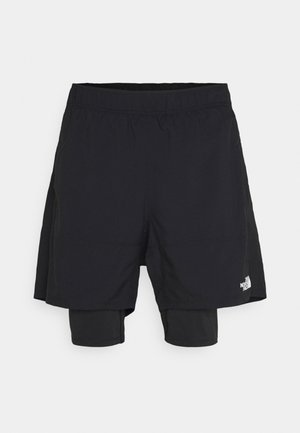 ACTIVE TRAIL DUAL - Sports shorts - black