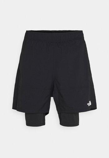 ACTIVE TRAIL DUAL - Short de sport - black