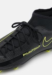 Nike Performance - PHANTOM GT CLUB DF FG/MG - Moulded stud football boots - black/cyber/light photo blue - 5