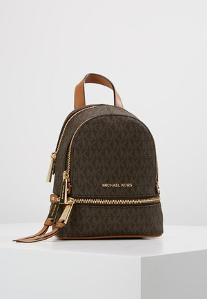 RHEA ZIP XS BACKPACK - Batoh - brown