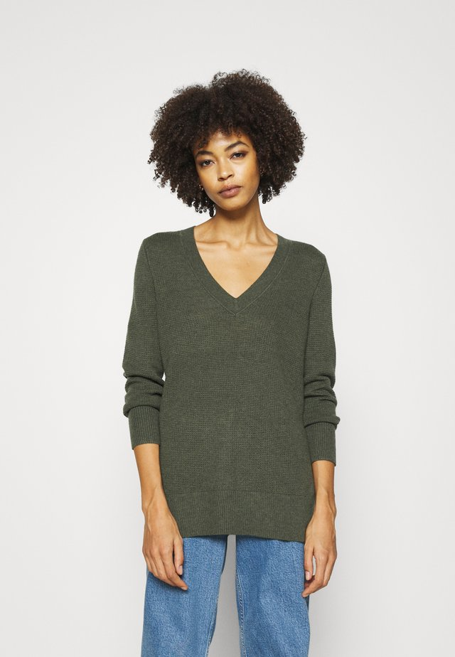 BROOKLYN  - Pullover - olive heather