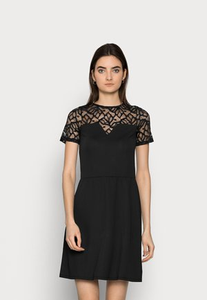 ONLMONNA DRESS - Jerseykjole - black