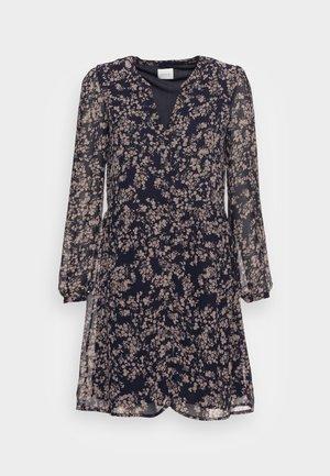 VIAMIONE DRESS - Shirt dress - navy blazer selin