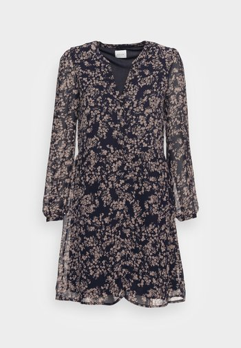 VIAMIONE DRESS - Skjortekjole - navy blazer selin