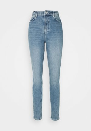 PCLEAH MOM - Relaxed fit jeans - light blue denim