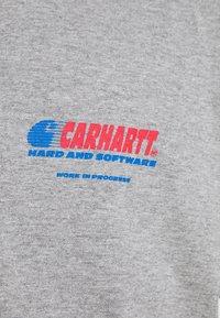 Carhartt WIP - SOFTWARE - Printtipaita - grey heather - 5