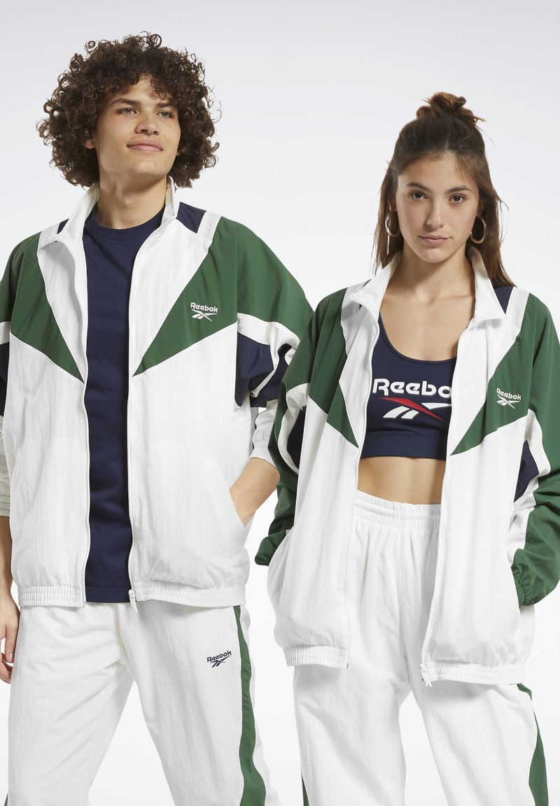 Reebok Classic - CLASSICS TWIN VECTOR TRACK TOP - Training jacket - white