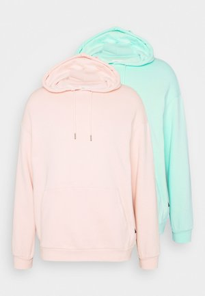UNISEX HOODIE 2 PACK  - Jersey con capucha - mint