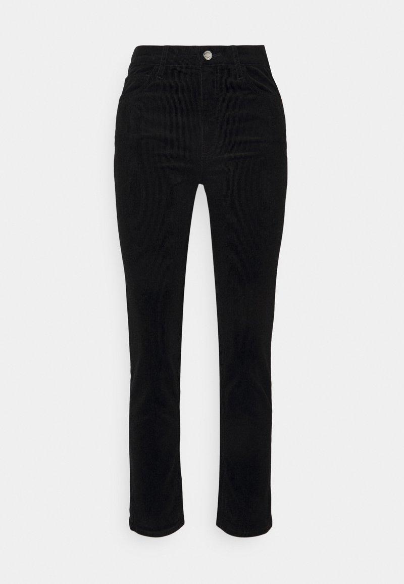 Club Monaco - THE HIGH RISE - Trousers - black