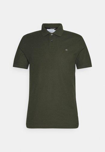 REFINED LOGO SLIM FIT - Polo shirt - dark olive