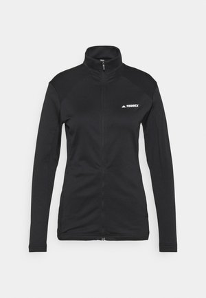 TERREX MULTI FULLZIP - Fleecejas - black