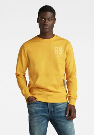 STITCH POCKET - Sweatshirt - yellow