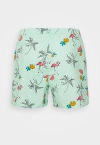 Hollister Co. - SINGLE PATTERN - Boxer shorts - mint - 5