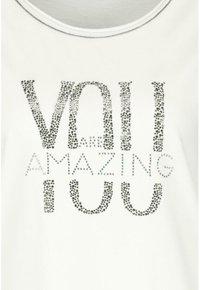 Monari - Print T-shirt - white - 2
