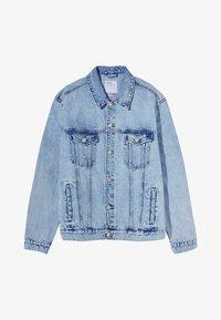 Bershka - Veste en jean - light blue - 4