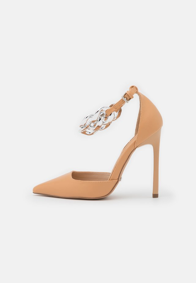 FAZE CHAIN COURT - Pumps - nude