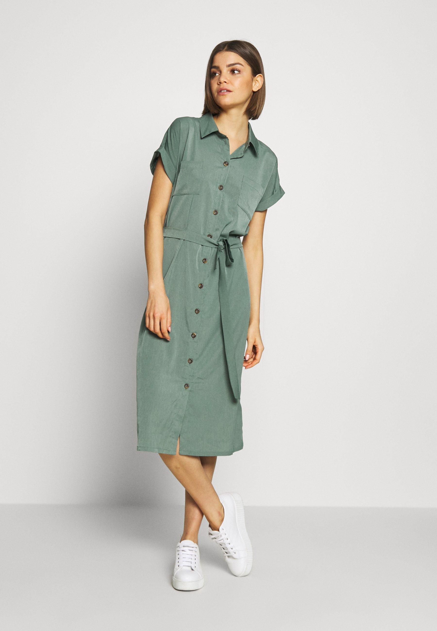 Mujer ONLHANNOVER SHIRT DRESS - Vestido camisero