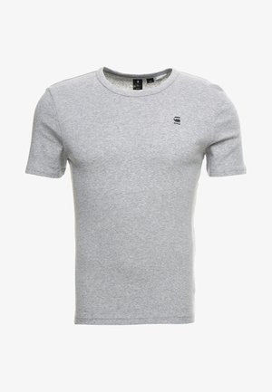 DAPLIN - Print T-shirt - grey heather