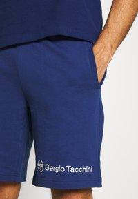 Sergio Tacchini - ASIS SHORT - Sportovní kraťasy - blue depths - 4