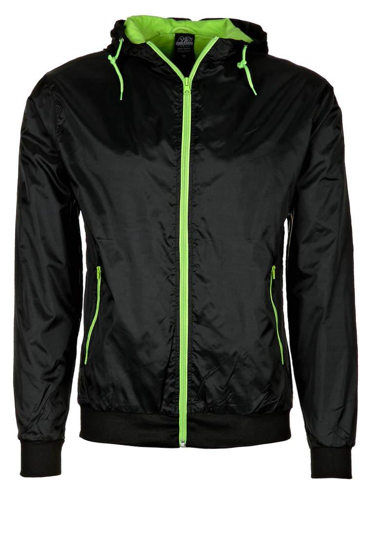 Urban Classics - Light jacket - black/lime green