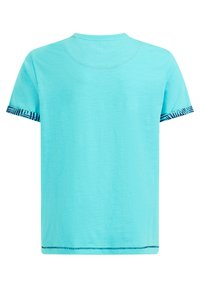 WE Fashion - 2 PACK - T-shirt con stampa - light blue - 4