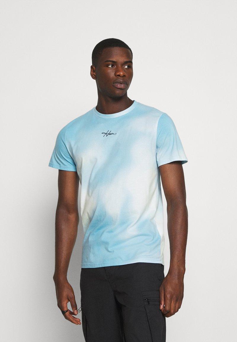 Hollister Co. - CREW WASH - Print T-shirt - greenish blue