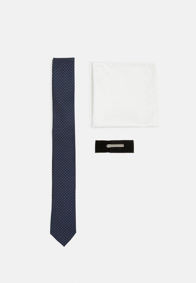 JACRICK GIFT BOX SET - Mouchoir de poche - navy blazer