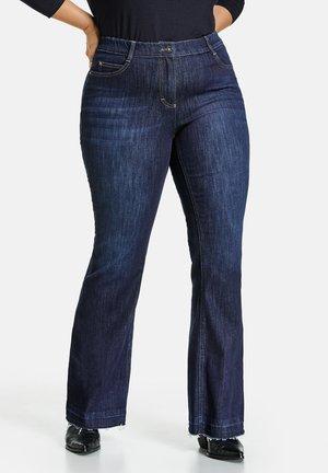 Bootcut jeans - raw blue denim