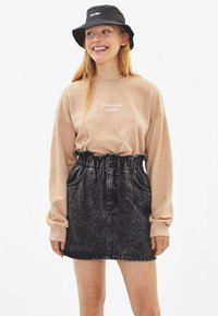 Bershka - Sweater - beige - 0
