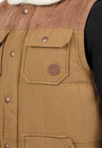 Solid - FERDI - Waistcoat - brown - 2