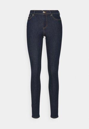 ONLWAUW LIFE - Skinny džíny - dark blue denim